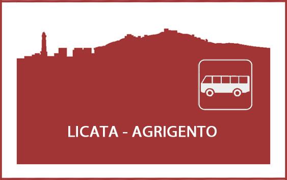 Logo degli orari degli autobus da Licata ad Agrigento e viceversa