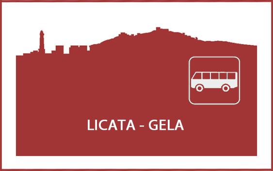 Logo orari autobus da Licata a Gela e viceversa