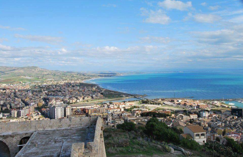 Foto panoramica di Licata