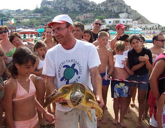 Foto di Franco Galia attivista WWF Licata