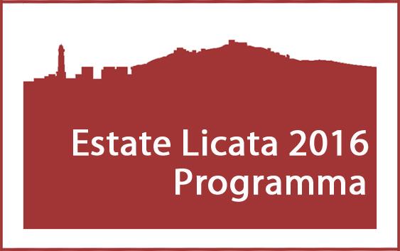 Locandina programma estate Licata 2016