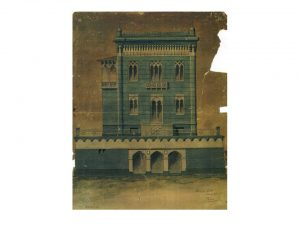 Progetto originale palazzina Re Grillo