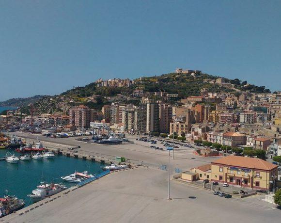 Foto del panorama di Licata dal Faro