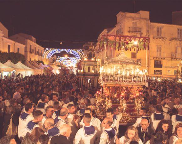 Foto della festa di sant'Angelo, patrono di Licata
